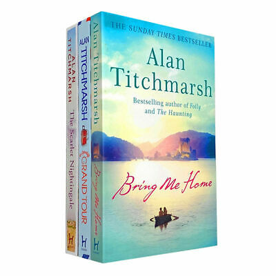 Alan Titchmarsh 3 Books Collection Set Mr Gandy's Grand Tour Paperback NEW • 13.48£