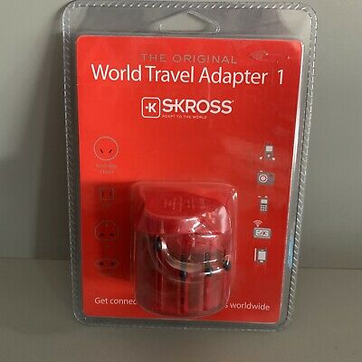 AU18.04 • Buy New Skross World Travel Adapter