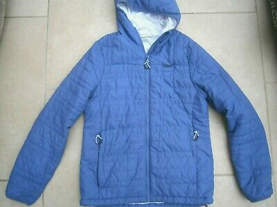 Craghoppers Womens Lightweight Ribbed Padded Jacket Lavender Blue Uk 8 • 7.99£