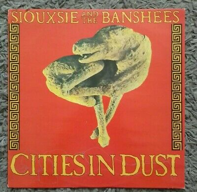 SIOUXSIE AND THE BANSHEES - Cities In Dust 12  VINYL SINGLE RECORD • 5£