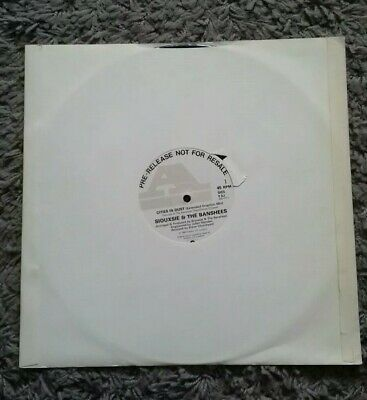 SIOUXSIE AND THE BANSHEES - Cities In Dust PRE-RELEASE PROMO 12  VINYL SINGLE  • 10£