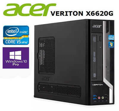 £128.60 • Buy Acer Veriton X6620G Computer PC Tower Core I5 VPro 3,2 GHz 8GB 500Gb HDD Win10