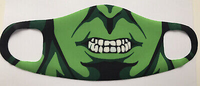 Reusable & Washable Adults Face Mask - The Hulk • 1.50£