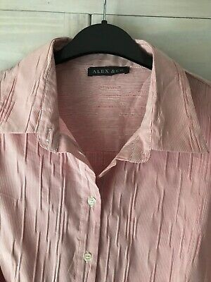 Alex & Co Woman's Pink Blouse Size 18 New Without Tags • 1.20£