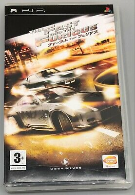 The Fast And The Furious: Tokyo Drift (Sony PSP-2007) • 14.99£