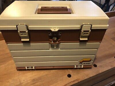$ CDN36.09 • Buy Vintage Plano Tackle Box With Lures & Fishing Gear