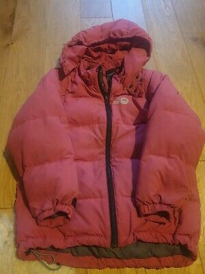 Spotty Otter Girls Down Coat Aged 7-8 • 7.50£