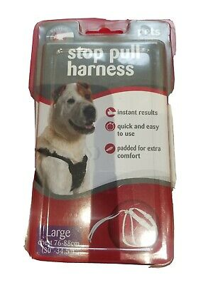 Pets At Home Black Stop Pull Harness • 6.50£