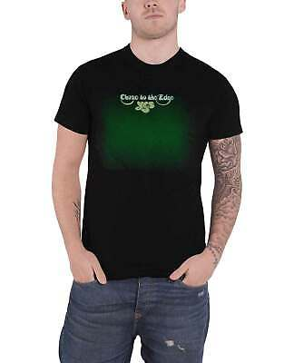 Yes T Shirt Close To The Edge Band Logo New Official Mens Black • 14.95£