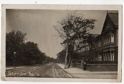 Liscard Sea View Road Posted 1912 RP • 4.50£