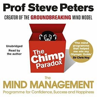 The Chimp Paradox: The Acclaimed Mind Management Programme To  New Audio CD Book • 17.09£