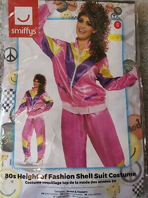 80's Shell Suit Fancy Dress Costume - Female (S) 8-10 Sporty Spice?  • 5£