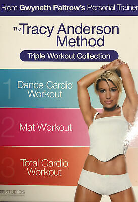 The Tracy Anderson Method - Triple Workout Collection (DVD, 2010, 3-Disc Set) • 6.95£