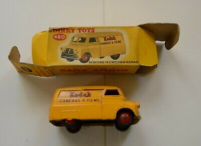 Kodak Dinky Toy 480 Bedford 10, Yellow Van,  • 38.03£
