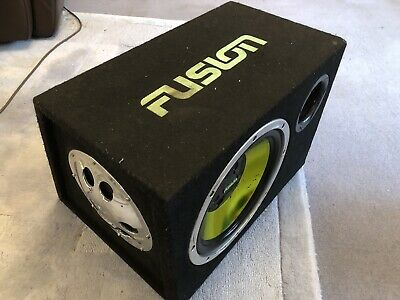 Fusion Subwoofer In Vented Sub Box, 400W • 45£