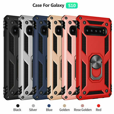$ CDN7.48 • Buy For Samsung Galaxy S8 S9 S10 Plus Magnetic Ring Holder Military Armor Case Cover