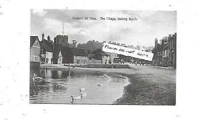 CHALFONT ST GILES The Village Looking South Early Buckinghamshire Postcard • 4.99£