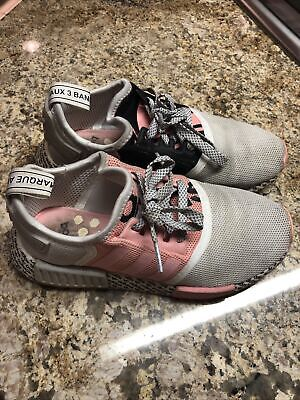 $ CDN1.31 • Buy Adidas NMD Sneaker | Girls Size 4 AUTHENTIC RARE