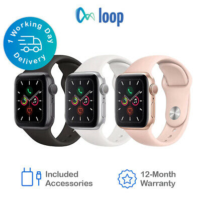 AU509 • Buy Apple Watch Series 5 Stainless Steel 40/44mm - * All Colours Available*