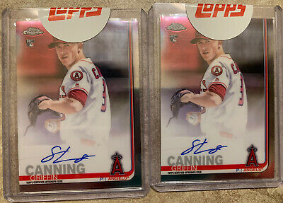 $ CDN32.88 • Buy GRIFFIN CANNING RC AUTO LOT (2) - 2019 Topps Chrome Autograph Sealed - ANGELS 🔥
