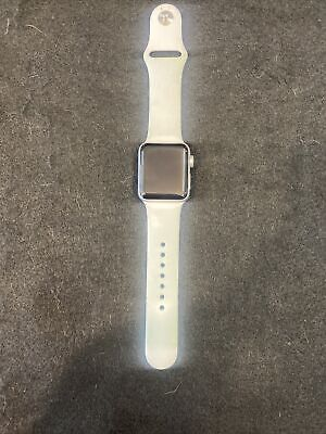 $ CDN170.47 • Buy Apple Watch Series 3 38mm Silver Aluminum Case ION X Glass GPS WR 50m