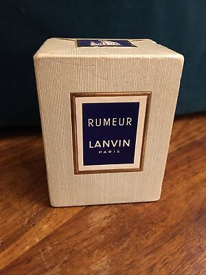 Very Rare Vintage Sealed Rumeur Extrait By Lanvin.Collectors Piece. Discontinued • 130£