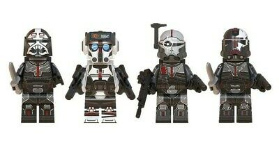 Bad Batch X 4. Star Wars Mini-figures. Lego Compatible - NEW - Posted From U.K. • 8.99£