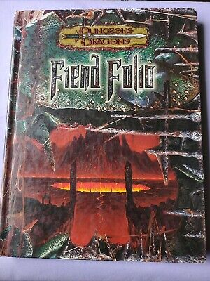 AU120 • Buy Dungeons & Dragons 3rd Edition FIEND FOLIO Guidebook 3.5 D&d 2003 MONSTER Book