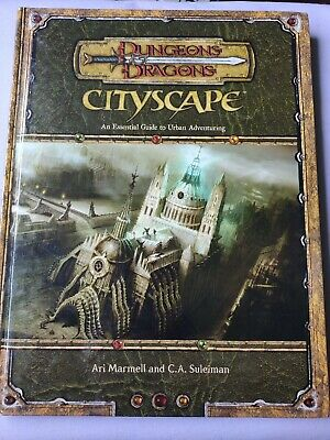 AU160 • Buy Dungeons & Dragons 3rd Edition CITYSCAPE 3.5 D&d Urban Adventuring 2006 WOTC