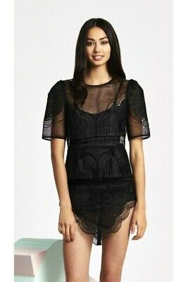 AU82 • Buy Alice Mccall Size 8 Youre Dream Drs In Black (Lace) Free Shipping