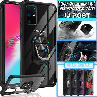 AU11.89 • Buy For Samsung S20 FE S10 9 8 Plus Ultra Note 20 A11 A21S  Clear Case Holder Cover