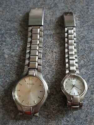 Accurist His And Hers, Mens Ladys Watches • 44£