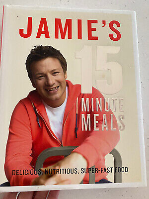 AU8 • Buy Jamie's 15-Minute Meals Jamie Oliver Cook Book Quick Recipes Collect Or Post