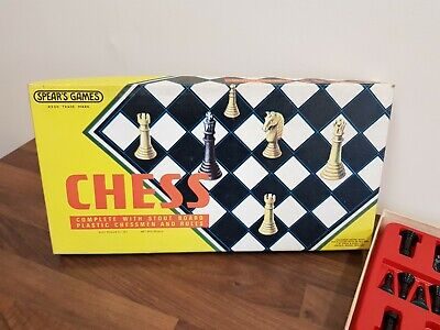 Spears Chess Set • 1.50£