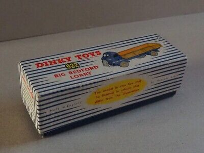 Dinky  922 Big Bedford Lorry    empty Box Only    excellent  • 16£