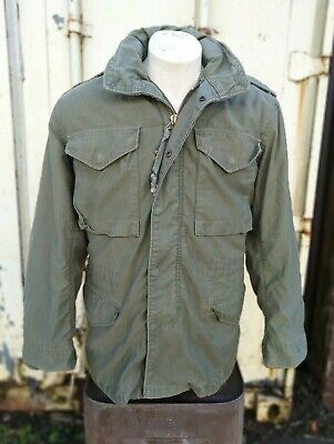 $ CDN116.92 • Buy M65 Cold Weather Field Jacket With Liner OG-107 Good Condition Size Small 1960's