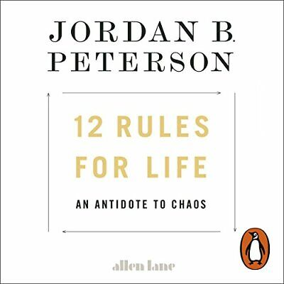 AU7.59 • Buy 12 Rules For Life An Antidote To Chaos By Jordan B. Peterson (Audiobook)