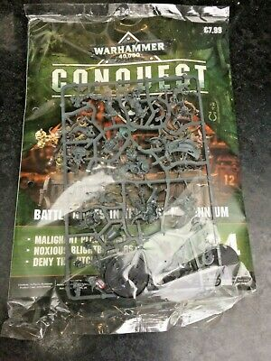 Warhammer 40k Conquest Magazine Issue 34  New Sealed With Figures • 19.99£