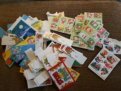 $ CDN11.84 • Buy Lot Of Several Vintage Christmas Gift Tags And Stickers