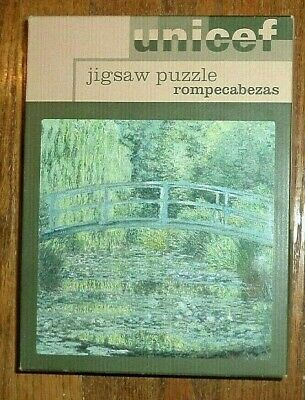 $ CDN16.33 • Buy Unicef 1200 Piece Jigsaw Puzzle Claude Monet Lily Pond Art Painting