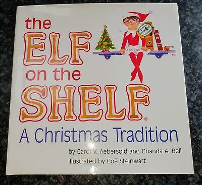 AU15 • Buy The Elf On The Shelf (BOOK ONLY) A Christmas Tradition