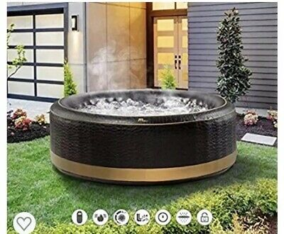 MSPA Camaro Family Inflatable Hot Tub Portable Spa Jacuzzi 4 Person Home Holiday • 219£