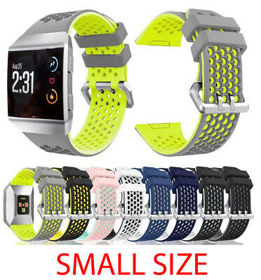 $ CDN6.66 • Buy For Fitbit Ionic Strap Silicone Sport Fitness Replacement Watch Wrist Band SMALL