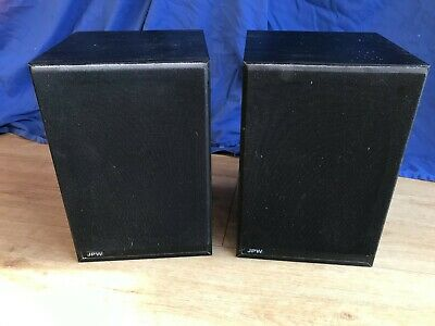 Pair Of JPW Minim Speakers Plus Wall Brackets • 17.99£