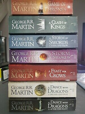 A Game Of Thrones Box Set George R. R. Martin 7 Books Set A Song Of Ice And Fire • 30£
