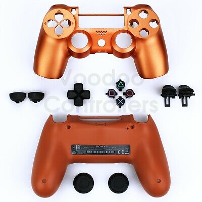 Housing Shell & Buttons For Official Sony Playstation 4 Controller PS4 V2 Repair • 18.99£