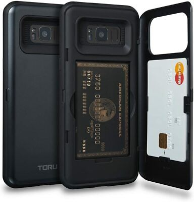 AU44.99 • Buy CASE For Samsung Galaxy S8 + Plus Wallet With Hidden Card Holder + ID Card Slot