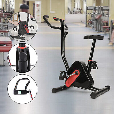 Aerobic Exercise Bike Bicycle Home Fitness Quite Motion Cycling Cardio Trainer F • 92.99£
