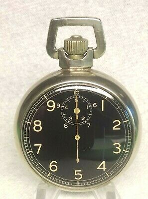 Elgin  WW2  Bomber's Timer  A-8 Jitterbug Stopwatch VGC Serviced • 180£