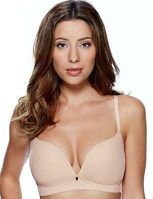 £14.40 • Buy Lepel Lexi Padded Bra 1498050 Moulded Soft Non-Wired Lightly Womens Plunge Bras